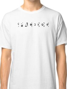 Cool Spacedog Typography Classic T-Shirt