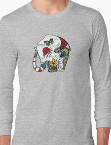 Peace Elephant Long Sleeve T-Shirt