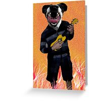 K9 Ukulele Greeting Card