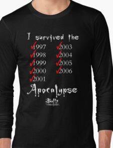 I Survived the Apocalypse Long Sleeve T-Shirt