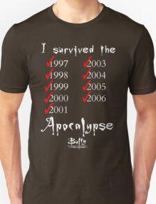 I Survived the Apocalypse Unisex T-Shirt