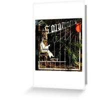 Solomon's Castle ~ The Gate Greeting Card