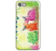 Dino Party iPhone Case/Skin