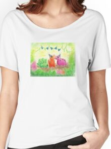 Dino Party Women's Relaxed Fit T-Shirt