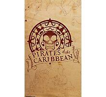 Pirates of the Caribbean Medallion 2 Photographic Print