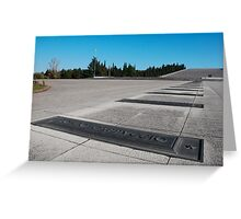 Redipuglia Military Cemetery Greeting Card