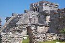 Mayan Temple, Tulum, Mexico by John Carpenter