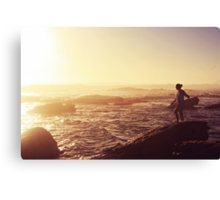 today was a pretty day Canvas Print