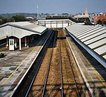 Truro train station by Roxy J