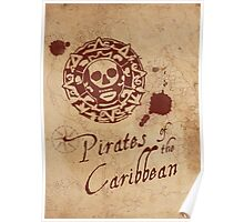 Pirates of the Caribbean Medallion Poster