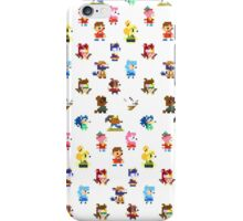 Pixel Crossing iPhone Case/Skin