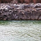 Basalt on the Boise River by Paul Budge