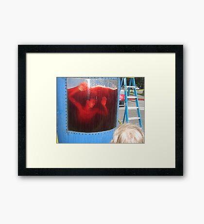 Kool Aid Death Framed Print