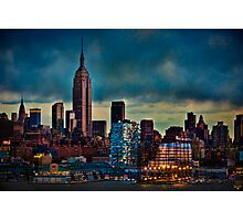 Midtown Manhattan Sunset Photographic Print