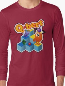 Q*Bert Logo Long Sleeve T-Shirt