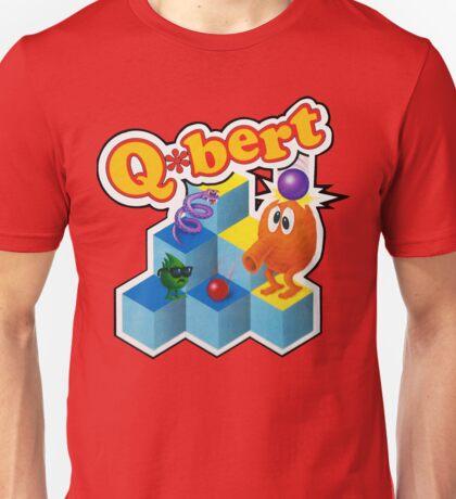 Q*Bert Logo Unisex T-Shirt