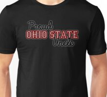 Proud Ohio State Uncle for dark backgrounds Unisex T-Shirt