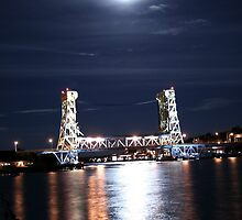 Vertical Lift Bridge by snehit