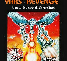 Yars' Revenge Cartridge Artwork by SquareEyedJak