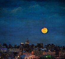 Manhattan Moonrise by Chris Lord