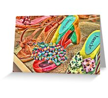 High Heels HDR Greeting Card