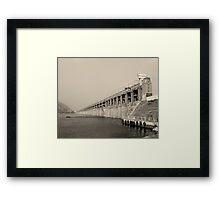 Indian city Framed Print