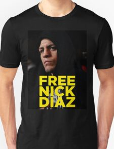 FREE NICK DIAZ - Nevada State Athletic Commission (NSAC) ban Nick Diaz for 5 years! T-Shirt