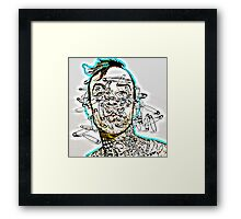 Travis Barker II Framed Print