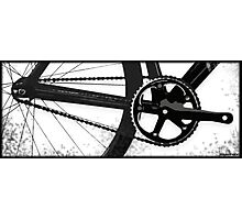 Trackbike DriveTrain Photographic Print
