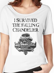 I Survived the Falling Chandelier Women's Relaxed Fit T-Shirt