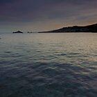 Pescatori al tramonto by Andrea Rapisarda