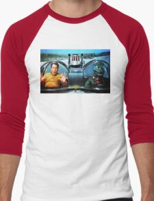 KIRK AND GORN BATMOBILE Oil Painting On Canvas T-Shirt