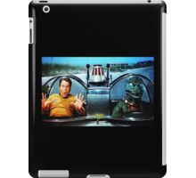 KIRK AND GORN BATMOBILE Oil Painting On Canvas iPad Case/Skin