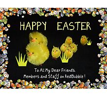 Happy Easter to all! Photographic Print