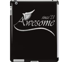 Awesome Since 1931 iPad Case/Skin