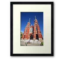 Church Architecture Framed Print