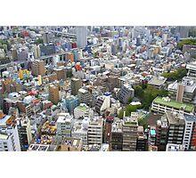 Tokyo Cityscape Photographic Print