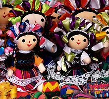 Mexican Dolls by Shirley  Poll
