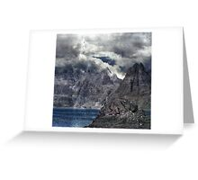 Life in a Landscape of Flying. Greeting Card