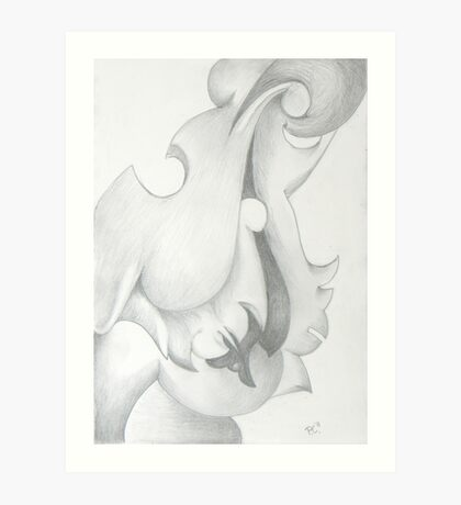 Free Form abstract # 5 Art Print
