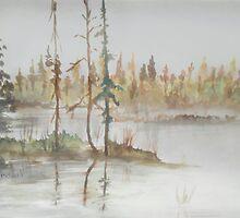 GRANDEUR - Sacred lake spirit by BSherdahl