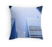 NY City's Tall Buildings Throw Pillow