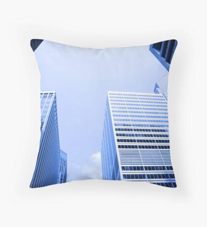 NY City's Tall Buildings Throw Pillow