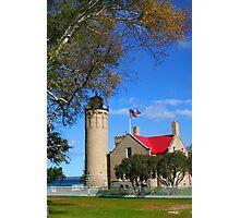 Mackinac Light house  Photographic Print