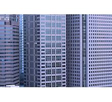 multi story buildings in Tokyo city Photographic Print