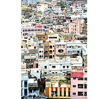 South Indian city Vijayawada Photographic Print