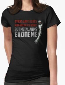 Sticks and Stones Womens Fitted T-Shirt