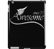 Awesome Since 1935 iPad Case/Skin