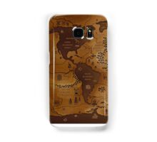 Maps Samsung Galaxy Case/Skin