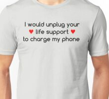 Life Priorities (Red Hearts) Unisex T-Shirt